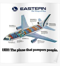 EASTERN AIRLINES L1011 Poster