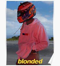 Frank Ocean - Blonde - Helmet Poster