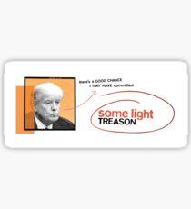 Entwicklungstrainer Trump Sticker