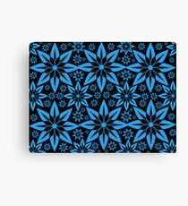 blue rush Canvas Print