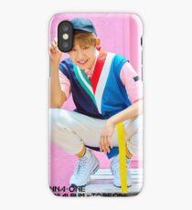 Wanna Oneㅣ1st Mini Album Photo #2 Park Woojin (공원 우진) 워너원의 데뷔 앨범 1X1=1 (TO BE ONE) iPhone Case/Skin