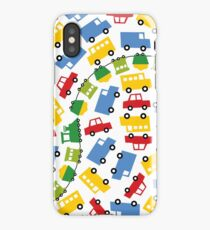Boys Toys | Cars Trains Buses Trucks Fun Transport iPhone Case/Skin