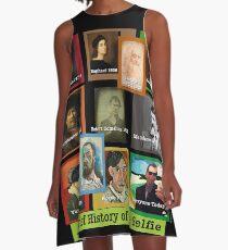 Art History SELFIES A-Line Dress