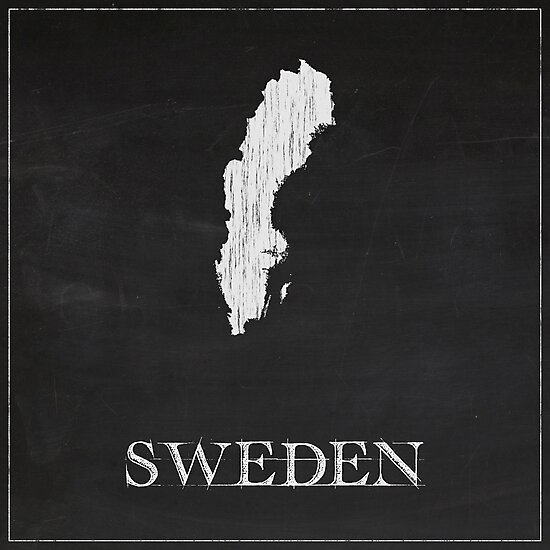 Sweden - Chalk by FinlayMcNevin