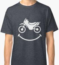 Motorbike Smile Classic T-Shirt