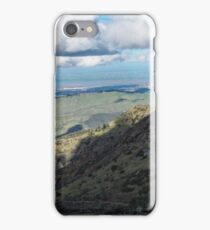 View from Mt. Diablo's Summit iPhone Case/Skin