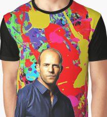 Jason Statham - Celebrity (Oil Paint Art) Graphic T-Shirt