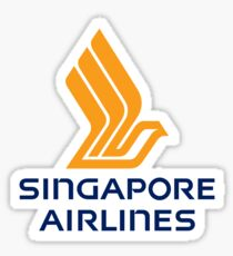 Singapore Airlines - A Great Way to Fly Sticker