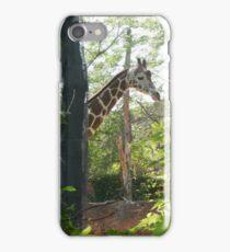 Peekaboo Giraffe iPhone Case/Skin