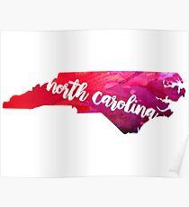 North Carolina Poster