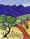 Pastel - Flinders Track  by Georgie Sharp