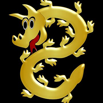 Golden Dragon Design by biglnet