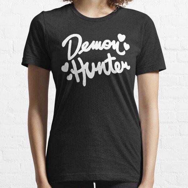 Demon Hunter WHITE Essential T-Shirt