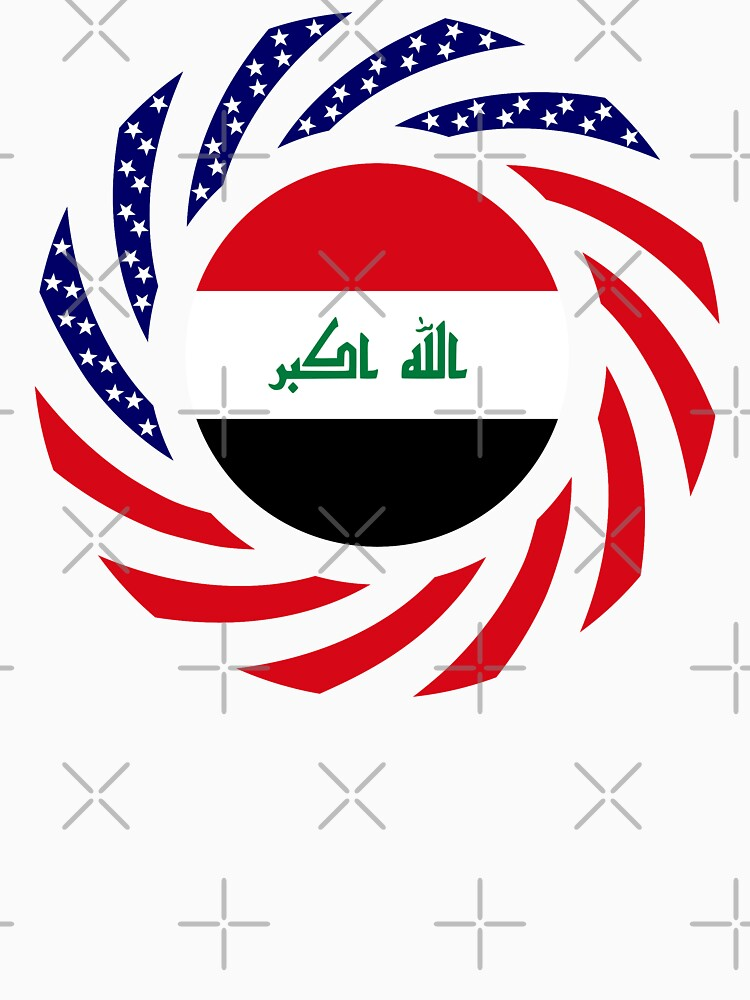 Iraqi American Multinational Patriot Flag Series by carbonfibreme