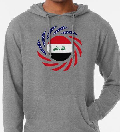 Iraqi American Multinational Patriot Flag Series Lightweight Hoodie