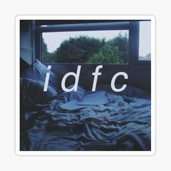 idfc Sticker