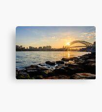 Sydney from Barangaroo Canvas Print