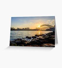 Sydney from Barangaroo Greeting Card