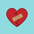 Healed Heart by evilkidart