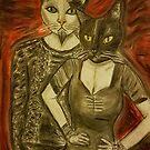 Vampire Cats by NiecyCatz
