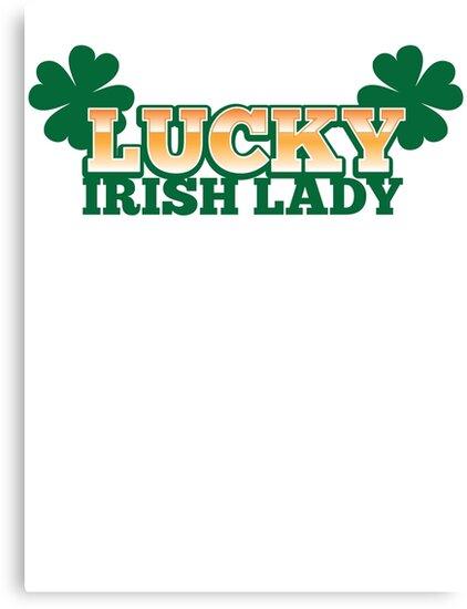 Lucky IRISH lady by jazzydevil