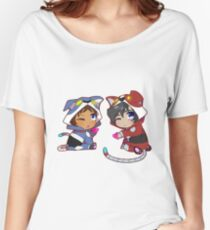 Chibi Voltron Onesie- Klance / Lance + Keith Women's Relaxed Fit T-Shirt