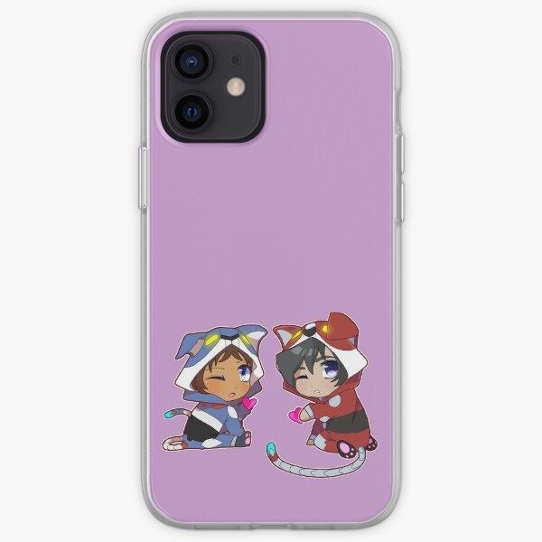 Chibi Voltron Onesie- Klance / Lance + Keith iPhone Soft Case