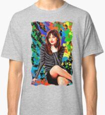 Dakota Johnson - Celebrity (Oil Paint Art) Classic T-Shirt