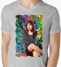 Dakota Johnson - Celebrity (Oil Paint Art) T-Shirt