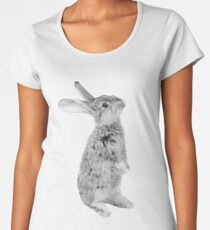 Rabbit 08 Frauen Premium T-Shirts