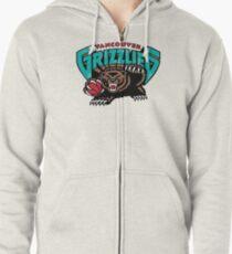 Sudadera con capucha y cremallera Logotipo de Vancouver Grizzlies