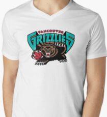 Vancouver Grizzlies Logo Men's V-Neck T-Shirt