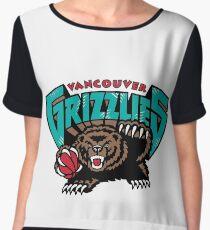 Vancouver Grizzlies Logo Women's Chiffon Top