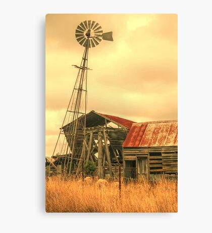 Rustic country Canvas Print
