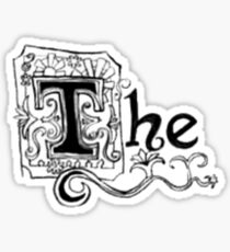 "Spongebob - ""The"" Sticker"
