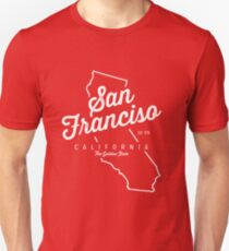 San Francisco - California - Vintage T-Shirt