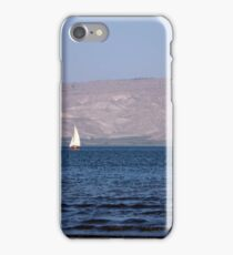 Sailing boats on the water iPhone Case/Skin