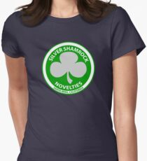 silver shamrock novelties halloween 3 season of the witch womens fitted t shirt