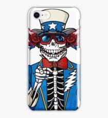 Grateful sam grateful dead iPhone Case/Skin