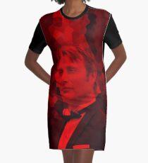 Mads Mikkelsen - Celebrity Graphic T-Shirt Dress