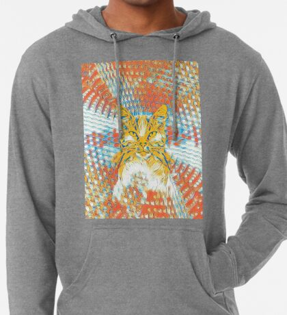 Yellow Cat Lightweight Hoodie