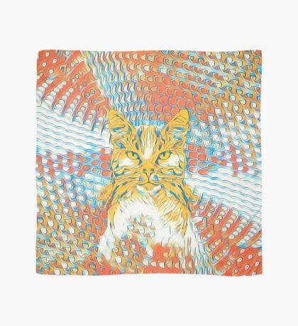 Yellow Cat Scarf