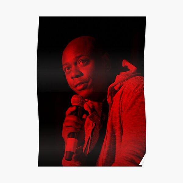 Dave Chappelle - Celebrity Poster