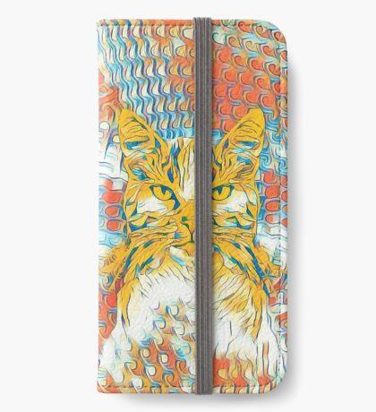 Yellow Cat iPhone Wallet