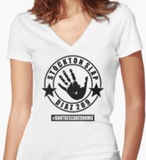 The Diaz Brothers Women's Fitted V-Neck T-Shirt