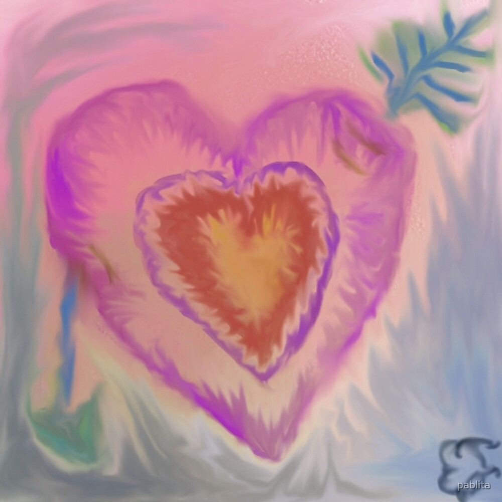 hearts in hearts by pablita