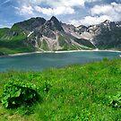 Lünersee, Austria by Lenka