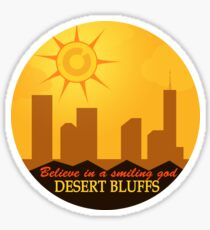 Desert Bluffs - Night Vale Sticker