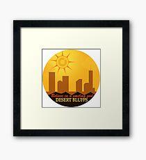 Desert Bluffs - Night Vale Framed Print