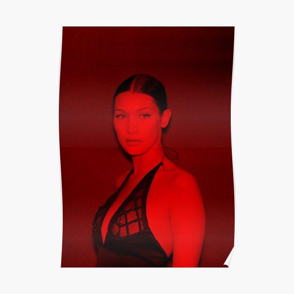 Bella Hadid - Celebrity (Sexy Pose) Poster